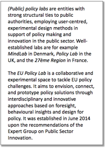 Policy Lab description 2